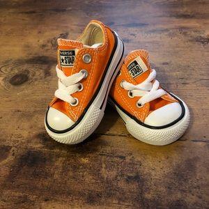 Converse Shoes   Orange Infant Converse